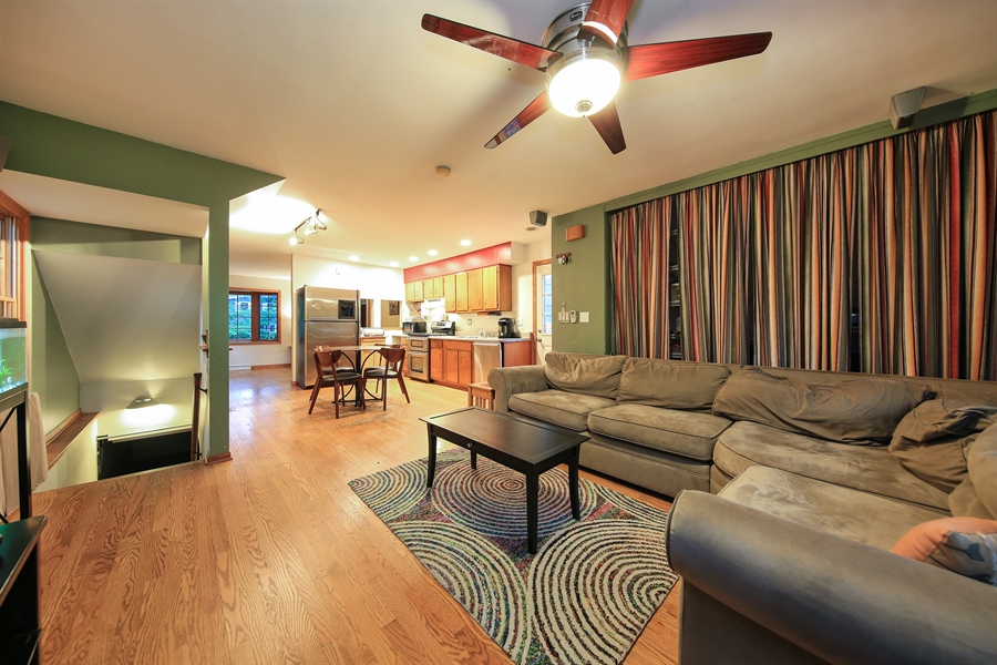 Real Estate Photography - 5629 Brookbank Road, Downers Grove, IL, 60516 - Family Room