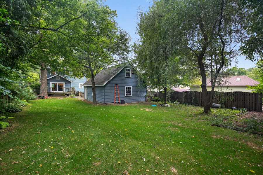 Real Estate Photography - 5629 Brookbank Road, Downers Grove, IL, 60516 - Rear View