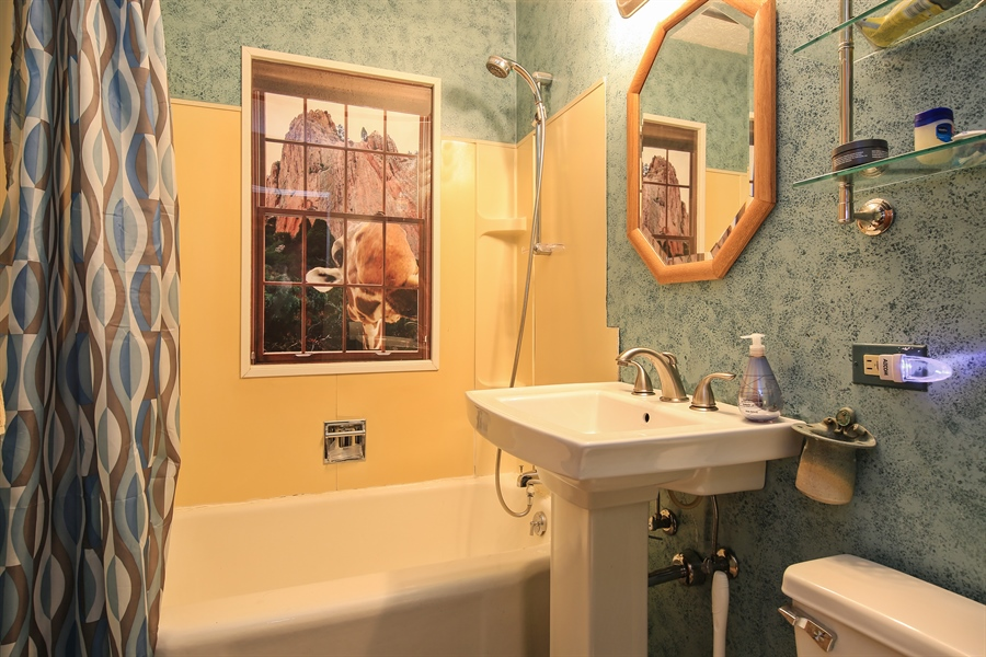 Real Estate Photography - 5629 Brookbank Road, Downers Grove, IL, 60516 - Bathroom