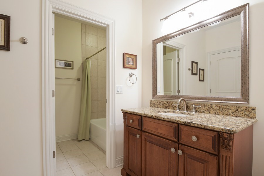 Real Estate Photography - 20961 W. Lakeview Parkway, Mundelein, IL, 60060 - 4th Bathroom