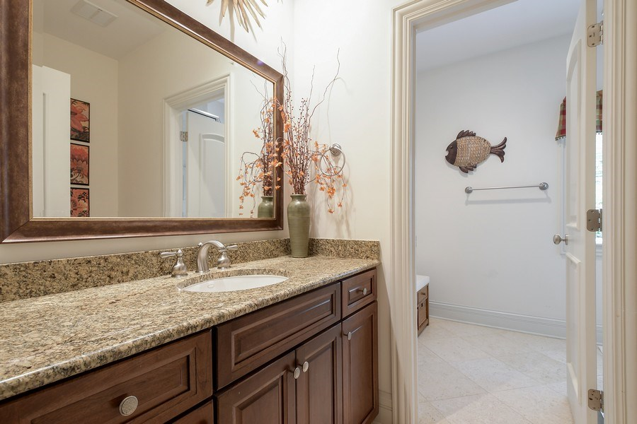 Real Estate Photography - 20961 W. Lakeview Parkway, Mundelein, IL, 60060 - 5th Bathroom