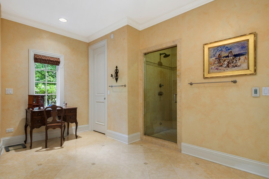 Real Estate Photography - 20977 W. Lakeview Parkway, Mundelein, IL, 60060 - Master Bathroom