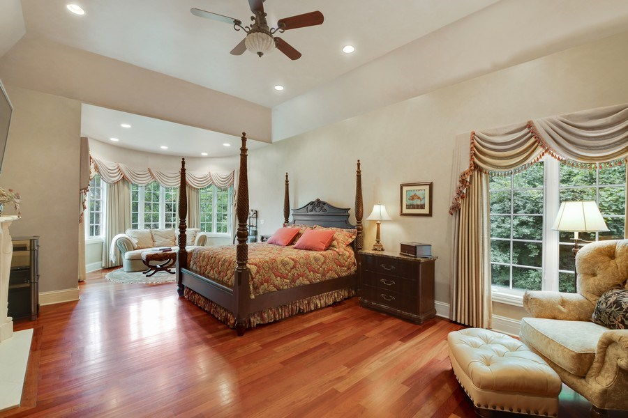 Real Estate Photography - 20961 W. Lakeview Parkway, Mundelein, IL, 60060 - Master Bedroom