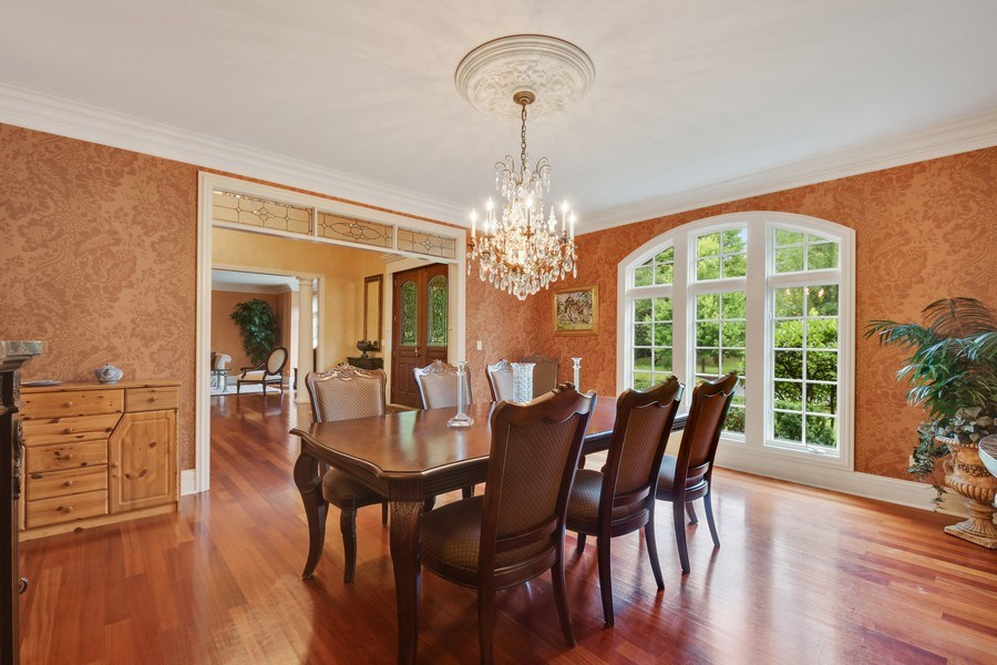 Real Estate Photography - 20961 W. Lakeview Parkway, Mundelein, IL, 60060 - Dining Room