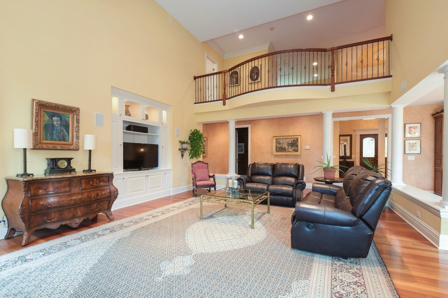 Real Estate Photography - 20961 W. Lakeview Parkway, Mundelein, IL, 60060 - Family Room