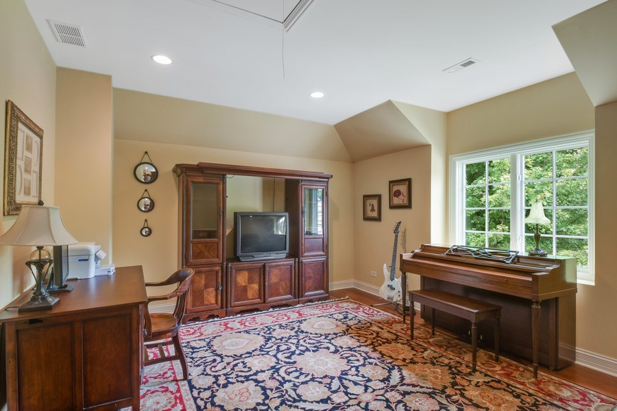 Real Estate Photography - 20961 W. Lakeview Parkway, Mundelein, IL, 60060 - Office