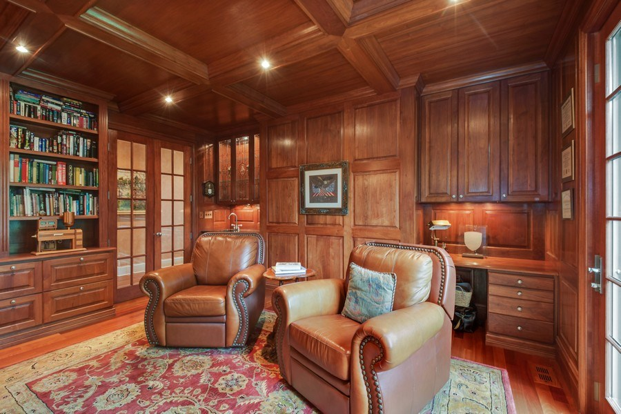 Real Estate Photography - 20961 W. Lakeview Parkway, Mundelein, IL, 60060 - Library