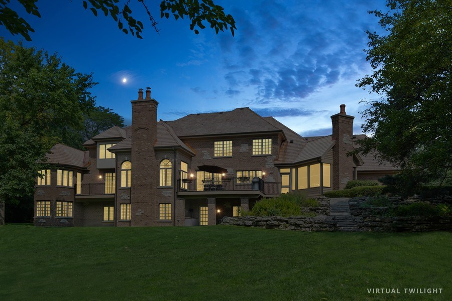 Real Estate Photography - 20977 W. Lakeview Parkway, Mundelein, IL, 60060 - Rear View