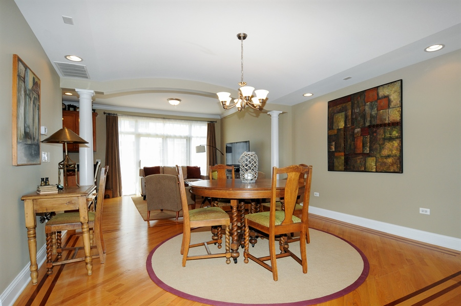 Real Estate Photography - 1909 Alta Vista Court, Naperville, IL, 60563 - Dining Room