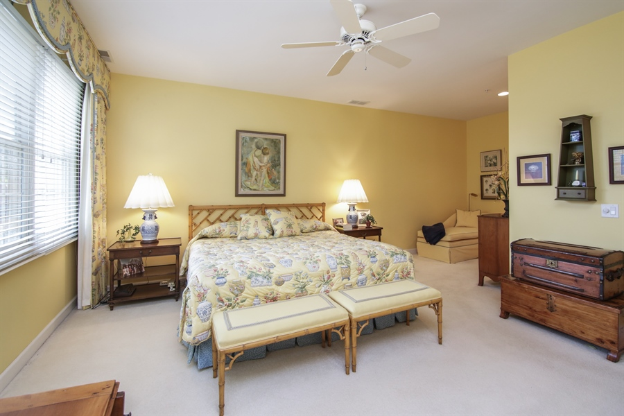 Real Estate Photography - 1875 Old Willow Road, Unit 113, Northfield, IL, 60093 - Master Bedroom