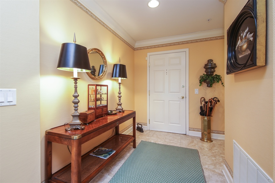 Real Estate Photography - 1875 Old Willow Road, Unit 113, Northfield, IL, 60093 - Foyer