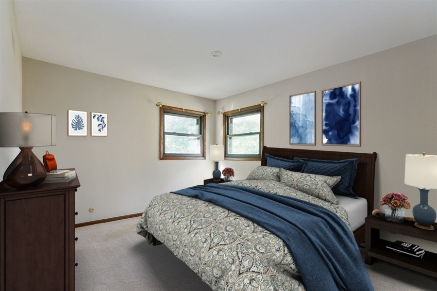 Real Estate Photography - 1625 Greenleaf Avenue, Des Plaines, IL, 60018 - Master Bedroom