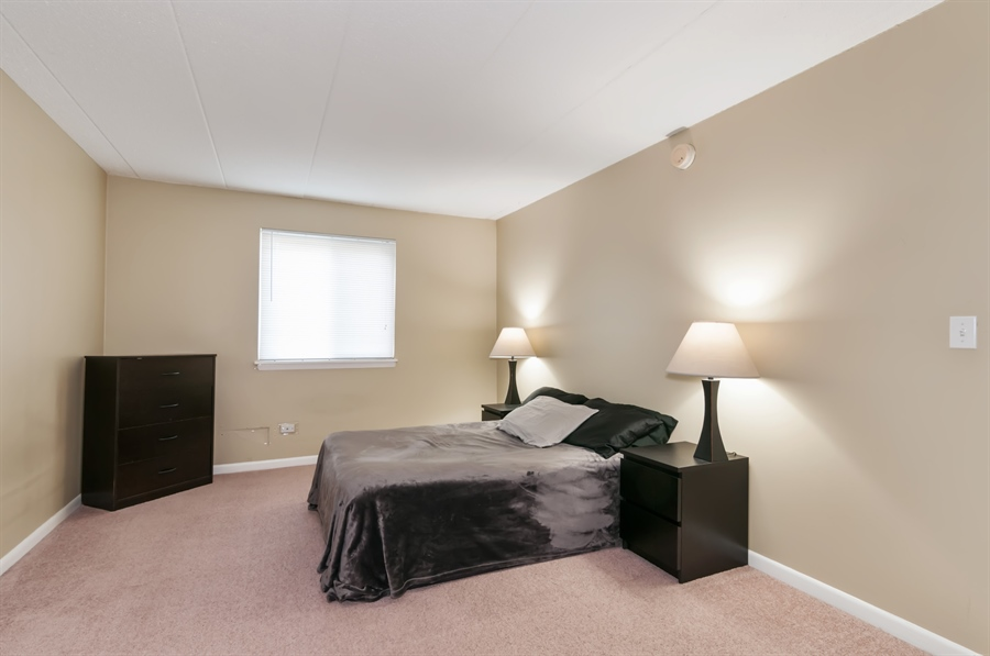 Real Estate Photography - 513 Timber Ridge Drive, Unit 106, Carol Stream, IL, 60188 - Master Bedroom