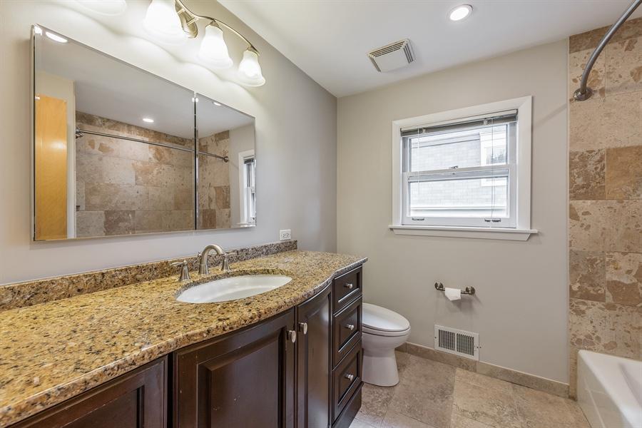 Real Estate Photography - 4618 W. Devon Avenue, Lincolnwood, IL, 60712 - Master Bathroom