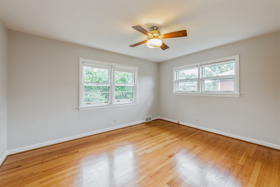 Real Estate Photography - 4618 W. Devon Avenue, Lincolnwood, IL, 60712 - 2nd Bedroom