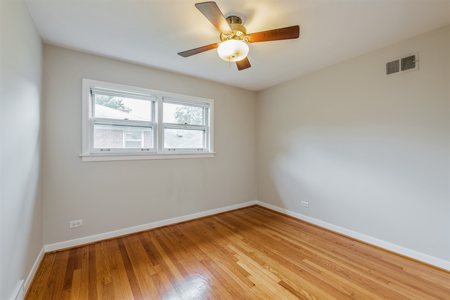 Real Estate Photography - 4618 W. Devon Avenue, Lincolnwood, IL, 60712 - 3rd Bedroom