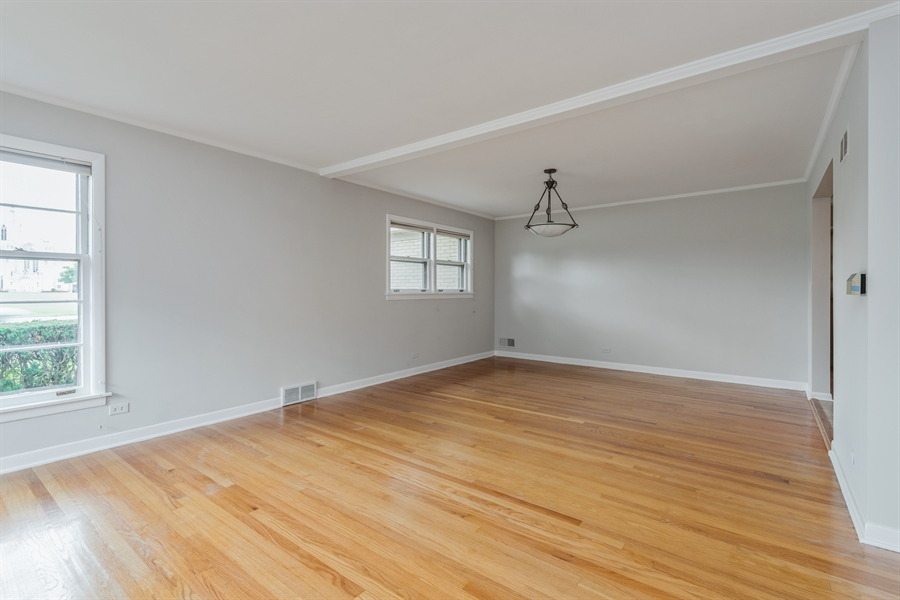 Real Estate Photography - 4618 W. Devon Avenue, Lincolnwood, IL, 60712 - Dining Room