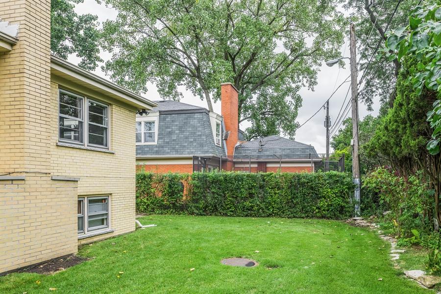 Real Estate Photography - 4618 W. Devon Avenue, Lincolnwood, IL, 60712 - Back Yard