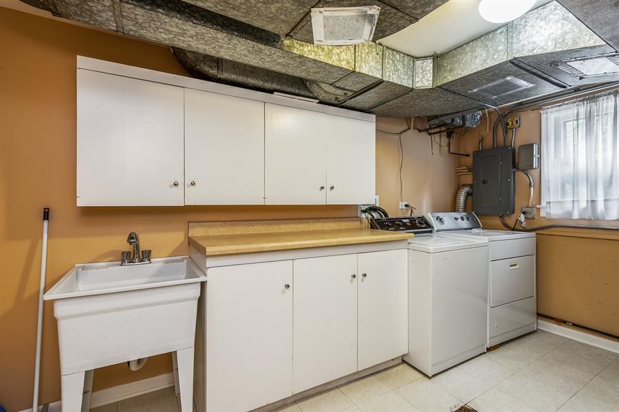 Real Estate Photography - 4618 W. Devon Avenue, Lincolnwood, IL, 60712 - Laundry Room