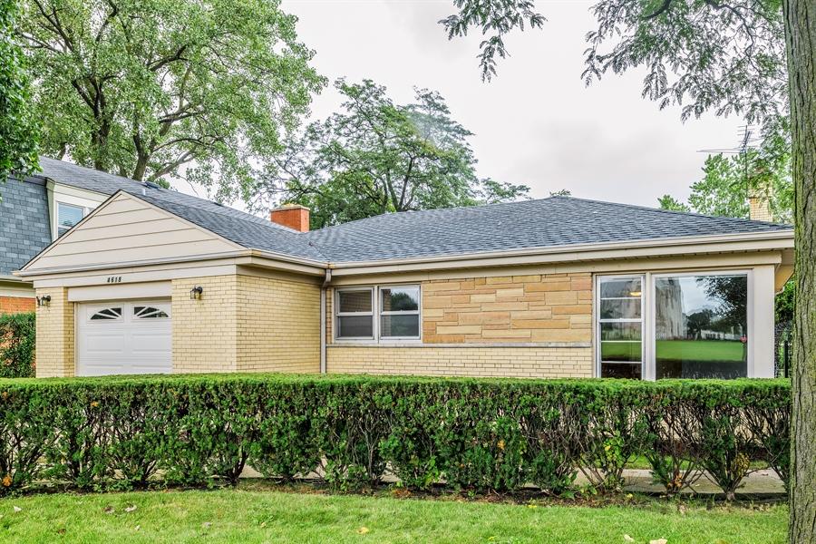 Real Estate Photography - 4618 W. Devon Avenue, Lincolnwood, IL, 60712 - Front View