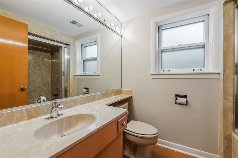 Real Estate Photography - 4618 W. Devon Avenue, Lincolnwood, IL, 60712 - 2nd Bathroom