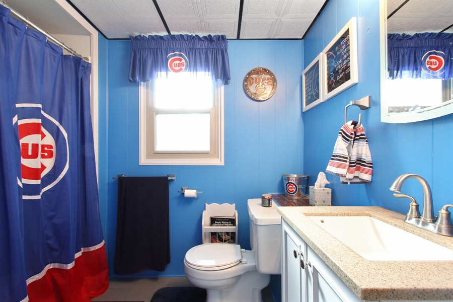 Real Estate Photography - 220 Briar Lane, Lindenhurst, IL, 60046 - 2ND FULL BATH W/NEW SINK/VANITY & FIXTURES