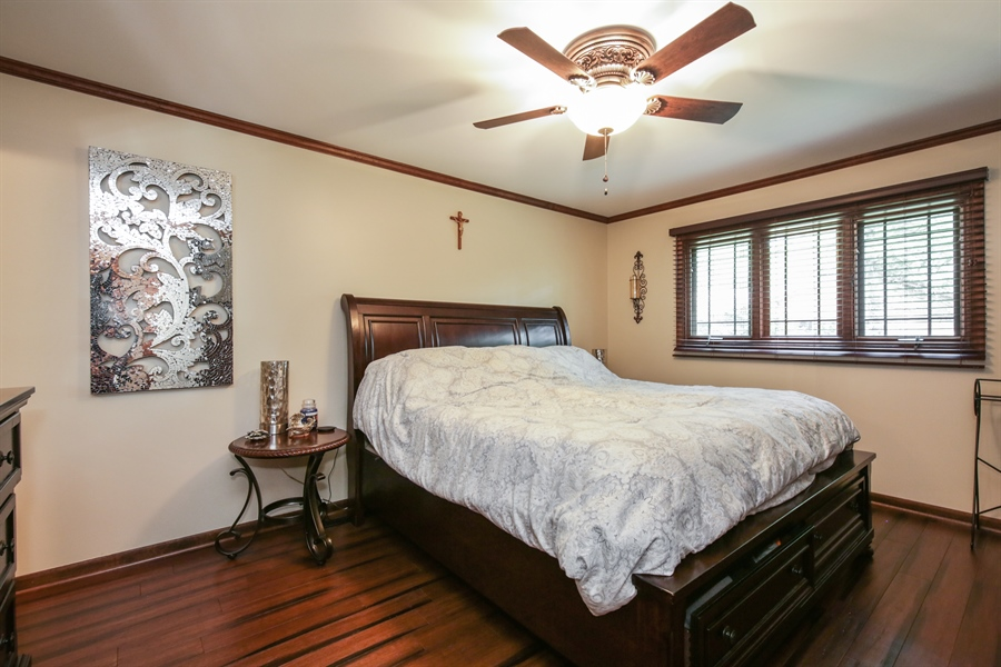 Real Estate Photography - 732 Hillside Court, Algonquin, IL, 60102 - Master Bedroom