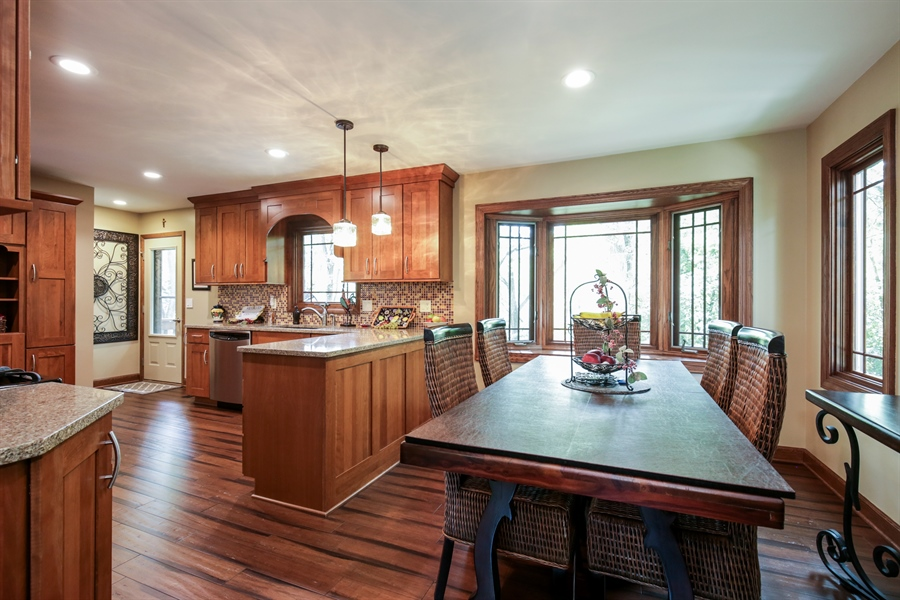 Real Estate Photography - 732 Hillside Court, Algonquin, IL, 60102 - Kitchen