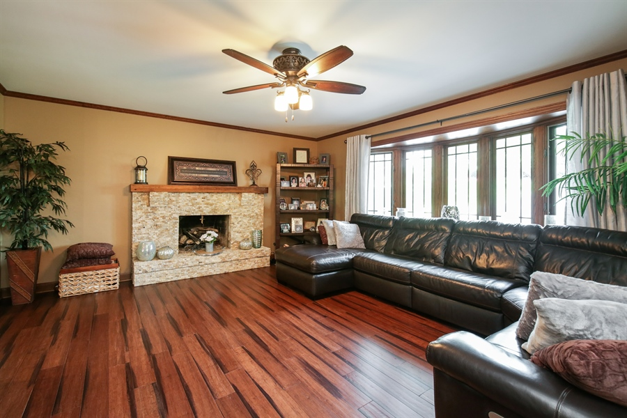Real Estate Photography - 732 Hillside Court, Algonquin, IL, 60102 - Family Room