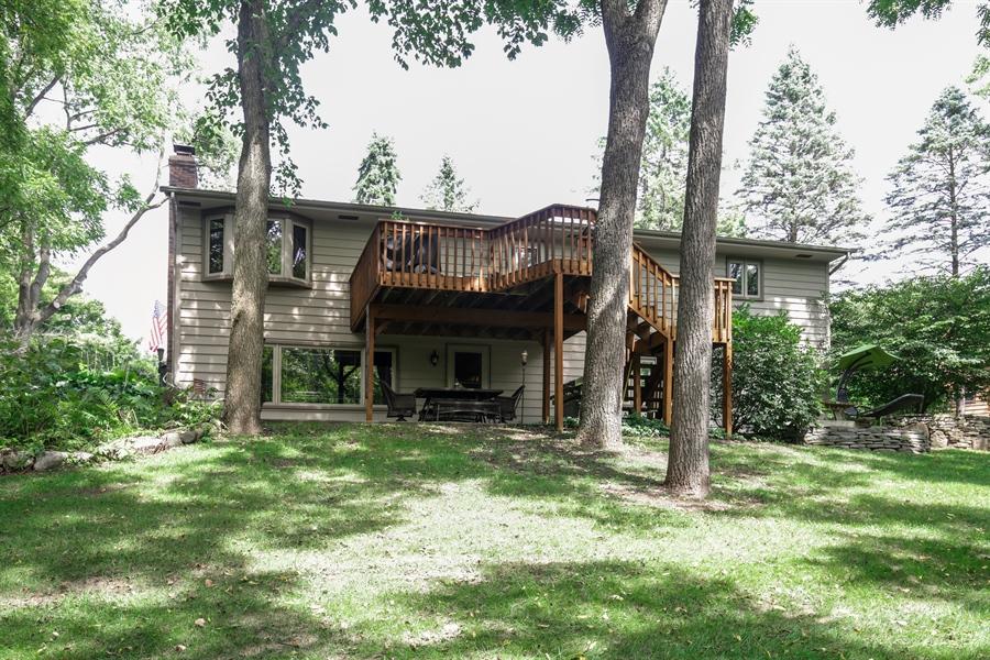 Real Estate Photography - 732 Hillside Court, Algonquin, IL, 60102 - Rear View