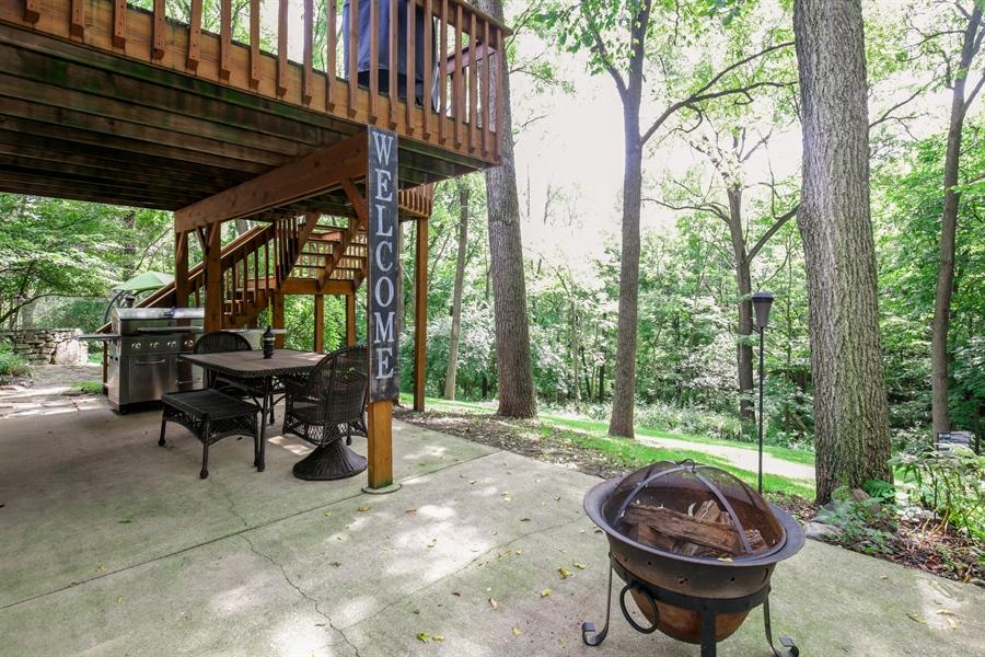 Real Estate Photography - 732 Hillside Court, Algonquin, IL, 60102 - Patio