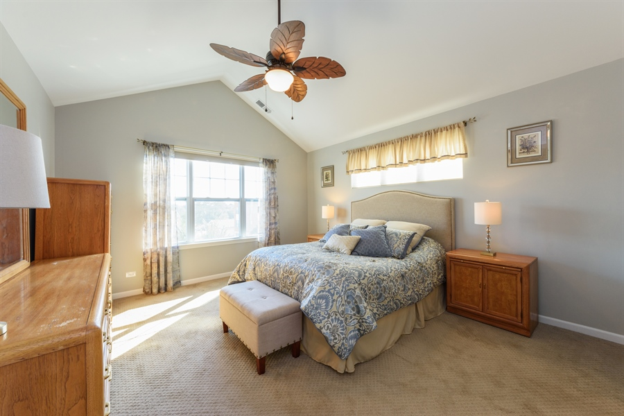 Real Estate Photography - 409 Lexington Lane, Rolling Meadows, IL, 60008 - Master Bedroom