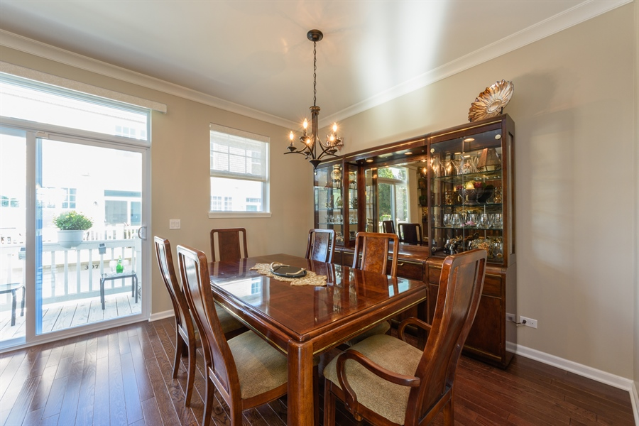 Real Estate Photography - 409 Lexington Lane, Rolling Meadows, IL, 60008 - Dining Room