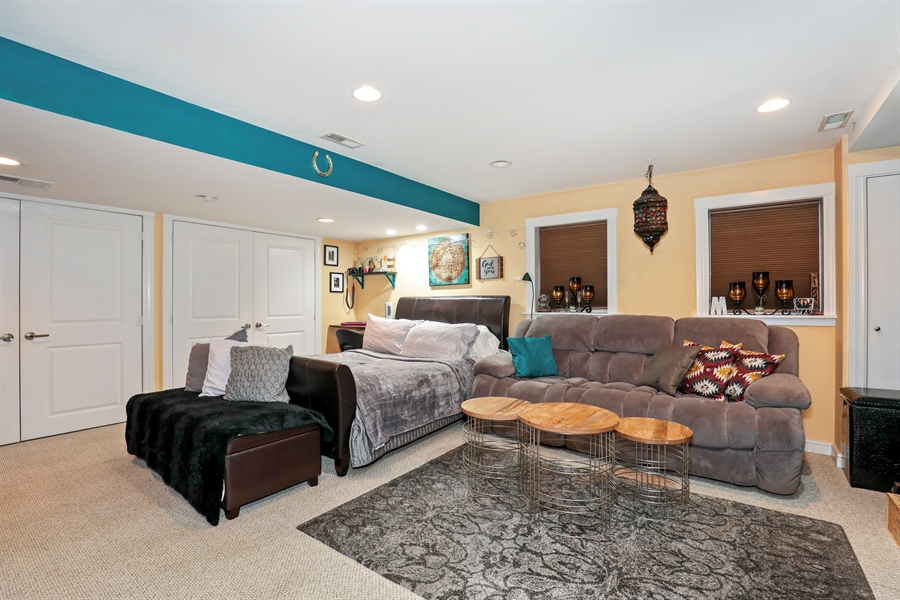 Real Estate Photography - 2106 W. Adobe Drive, Unit 2106, Addison, IL, 60101 - Basement