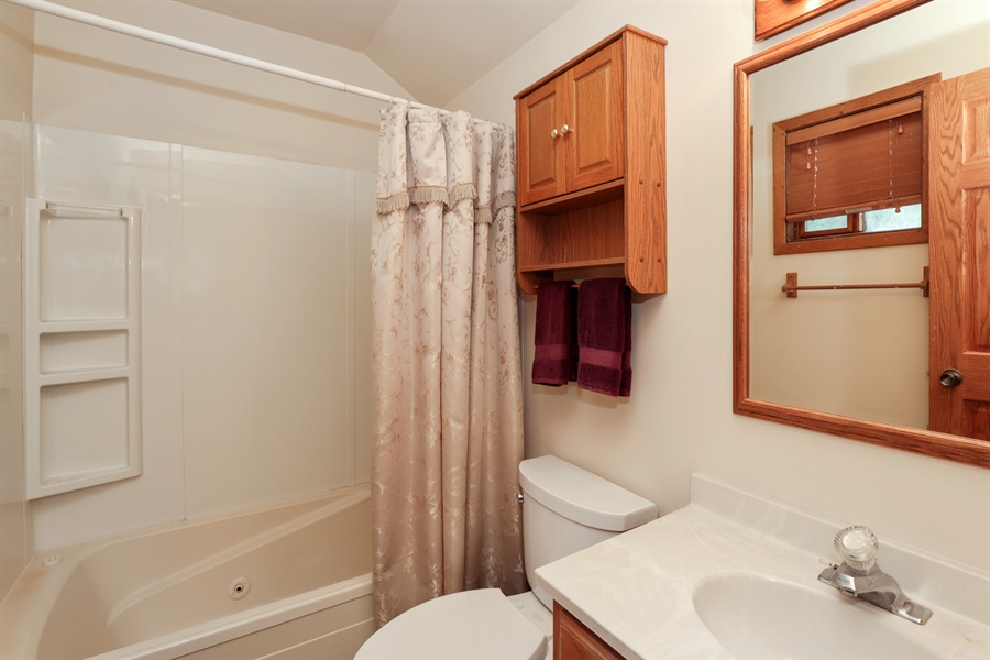 Real Estate Photography - 42611 N. Addison Lane, Antioch, IL, 60002 - Master Bathroom
