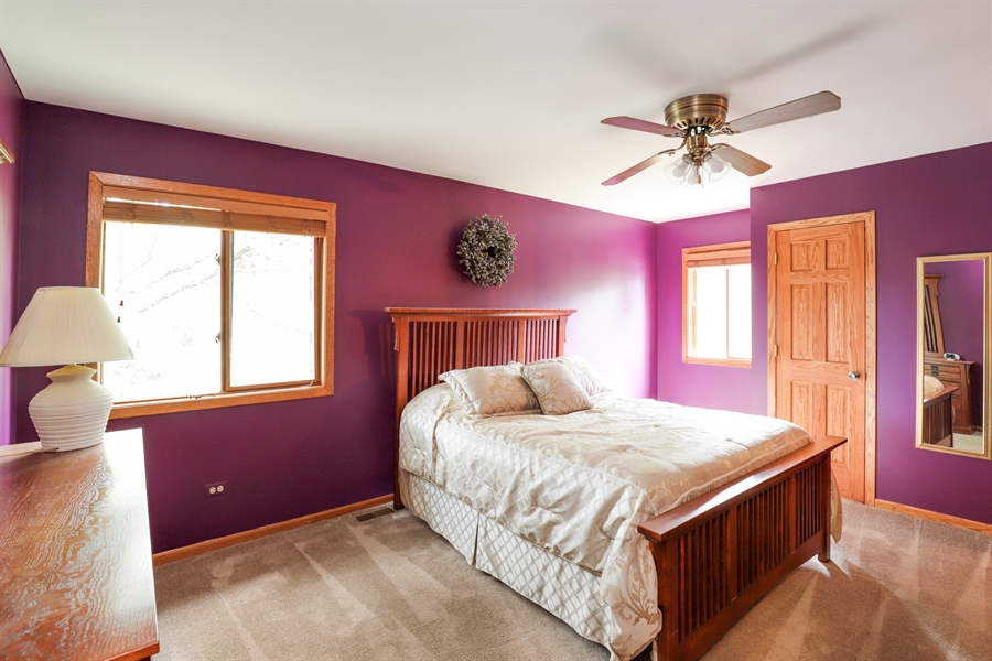 Real Estate Photography - 42611 N. Addison Lane, Antioch, IL, 60002 - Master Bedroom