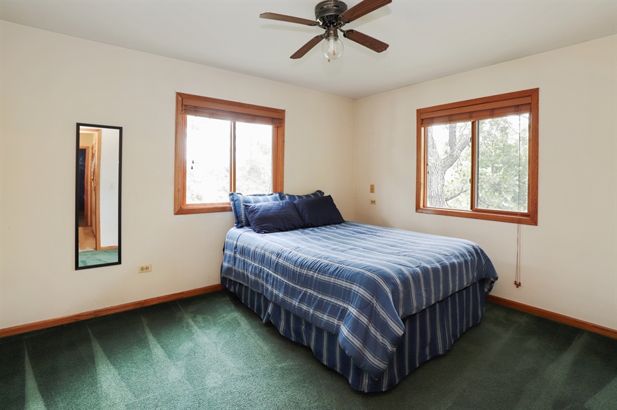 Real Estate Photography - 42611 N. Addison Lane, Antioch, IL, 60002 - Bedroom