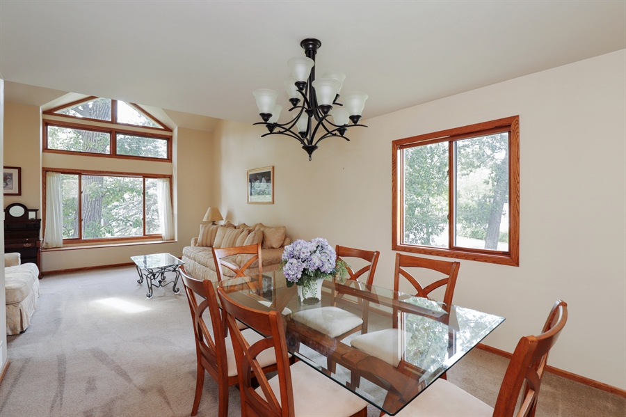Real Estate Photography - 42611 N. Addison Lane, Antioch, IL, 60002 - Dining Room