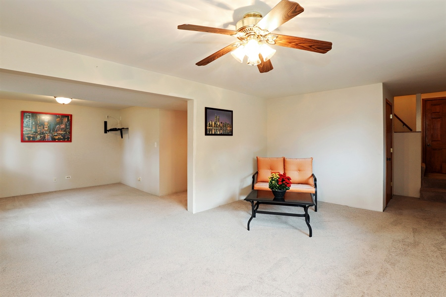 Real Estate Photography - 42611 N. Addison Lane, Antioch, IL, 60002 - Basement