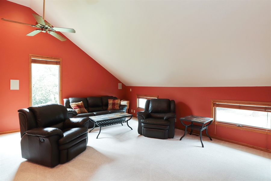 Real Estate Photography - 42611 N. Addison Lane, Antioch, IL, 60002 - Family Room