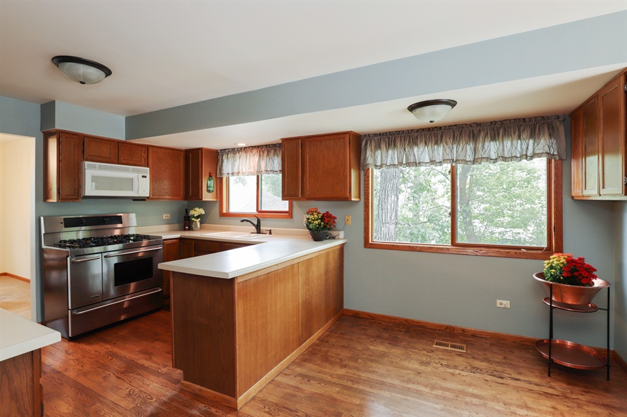 Real Estate Photography - 42611 N. Addison Lane, Antioch, IL, 60002 - Kitchen