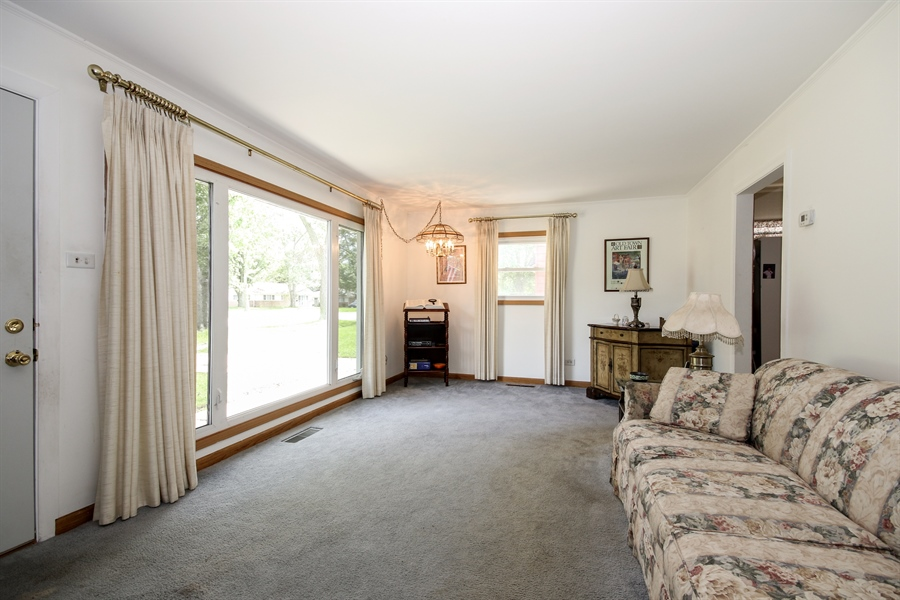 Real Estate Photography - 444 Indianwood Boulevard, Park Forest, IL, 60466 - Living Room
