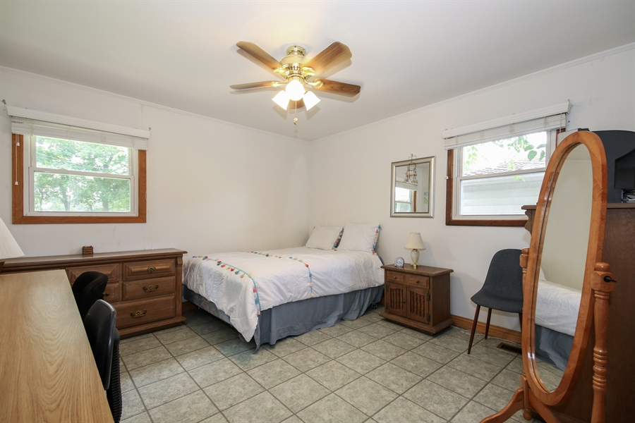 Real Estate Photography - 444 Indianwood Boulevard, Park Forest, IL, 60466 - Master Bedroom