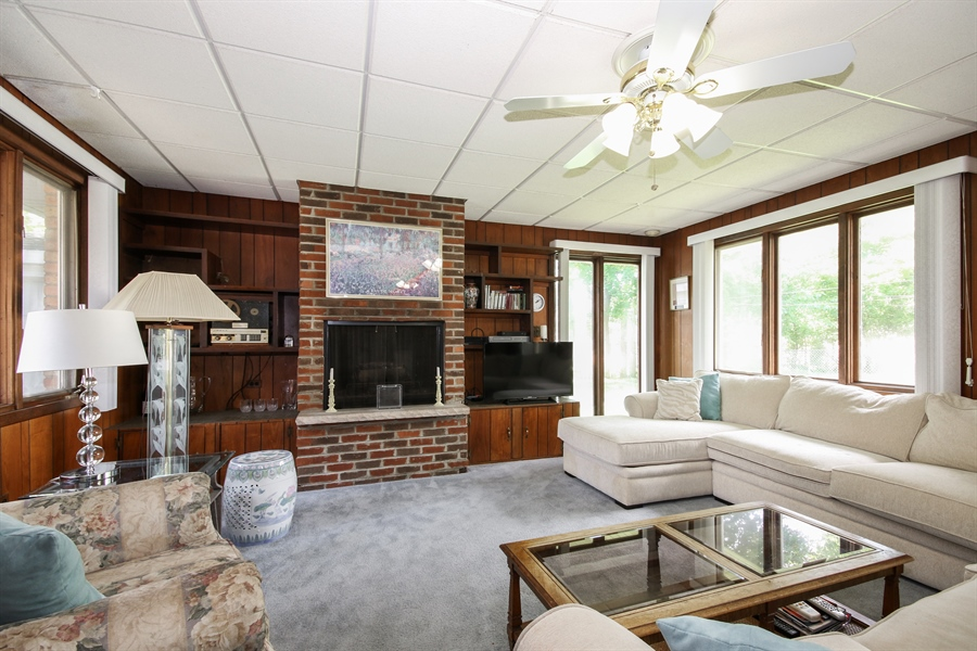 Real Estate Photography - 444 Indianwood Boulevard, Park Forest, IL, 60466 - Family Room