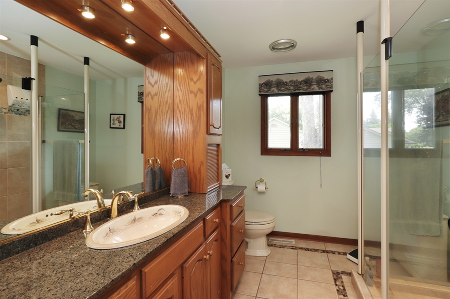 Real Estate Photography - 40306 N. Sunset Drive, Antioch, IL, 60002 - Master Bathroom