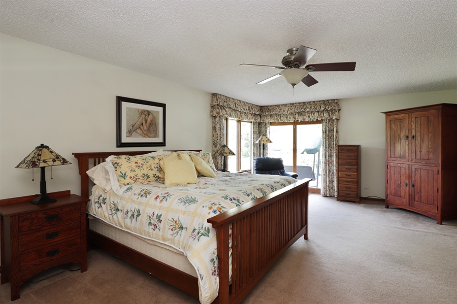 Real Estate Photography - 40306 N. Sunset Drive, Antioch, IL, 60002 - Master Bedroom