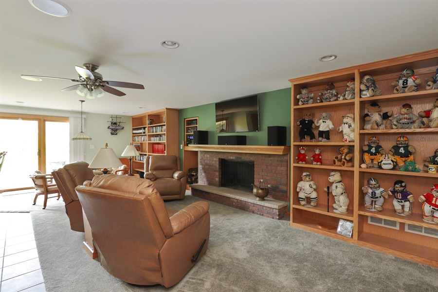 Real Estate Photography - 40306 N. Sunset Drive, Antioch, IL, 60002 - Recreational Room