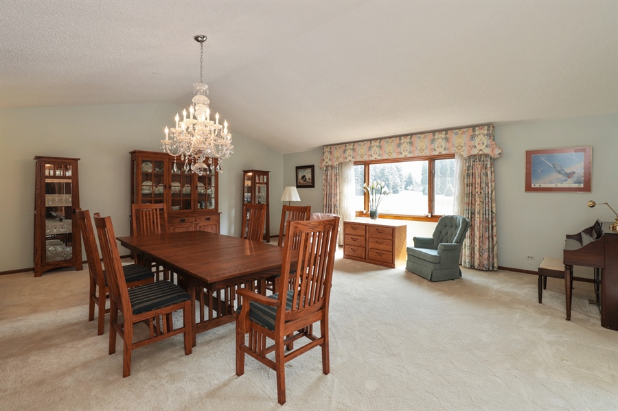 Real Estate Photography - 40306 N. Sunset Drive, Antioch, IL, 60002 - Dining Room