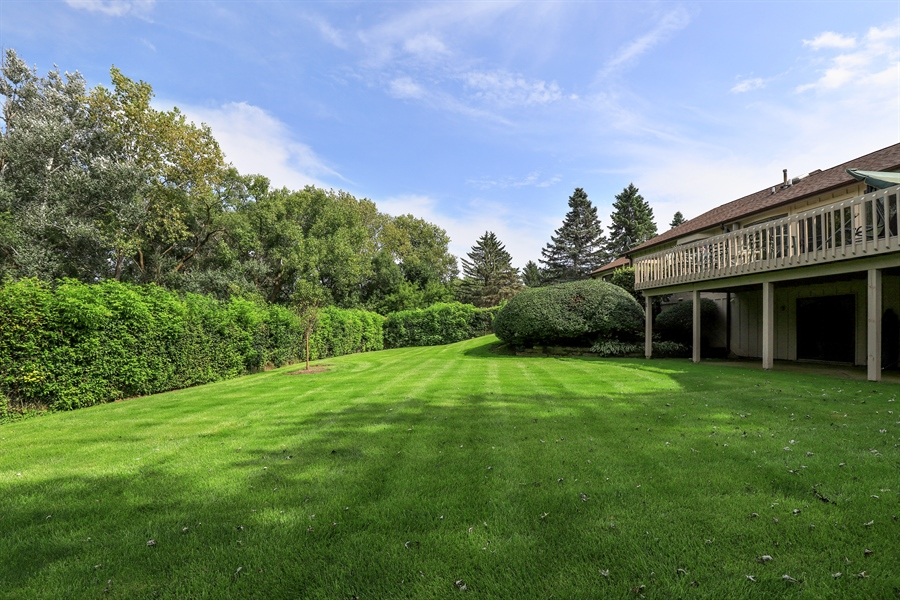 Real Estate Photography - 40306 N. Sunset Drive, Antioch, IL, 60002 - Back Yard