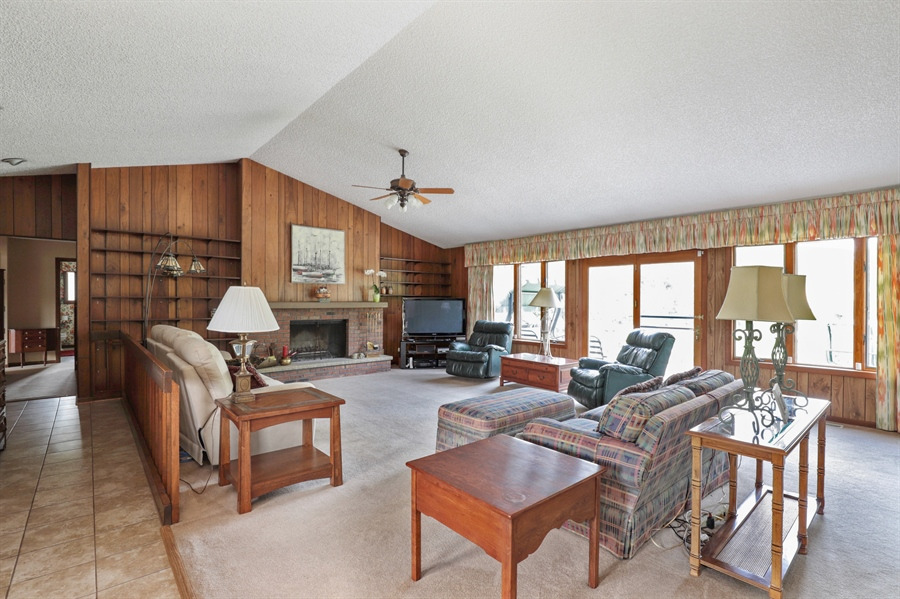 Real Estate Photography - 40306 N. Sunset Drive, Antioch, IL, 60002 - Family Room
